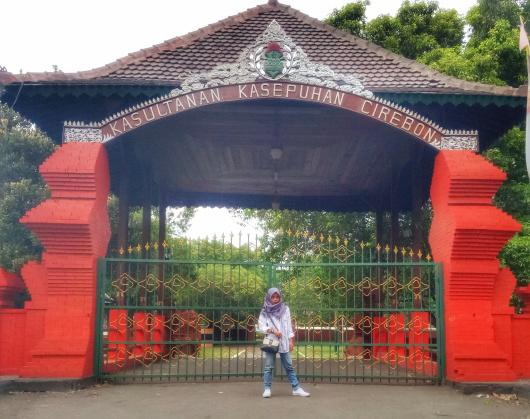 Keraton Kasepuhan Menjadi Tempat Wisata Cirebon Paling Favorit Wisatawan Asing. Foto: Nanda Adita