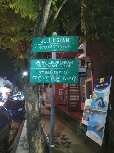 Jalan Legian Bali - Humaedi Jamil