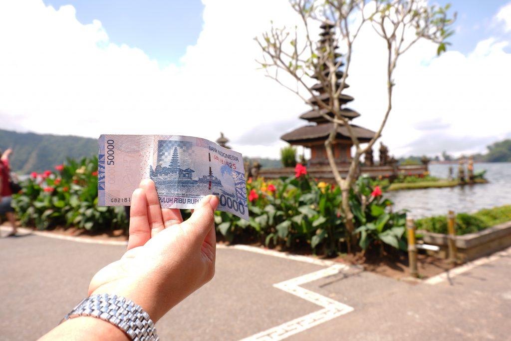 Bedugul Bali Ada di Uang 50 Ribuan