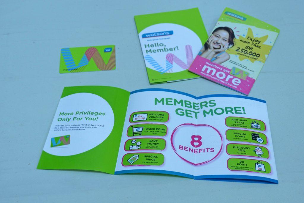 8 Benefit dari Member Card Watsons. Jadi Member Pasti Untung/Foto: Prajna Vita