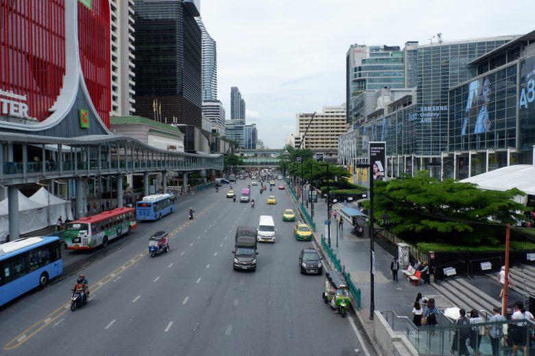 Thailand Macetnya Hampir Sama dengan Jakarta Tapi Tidak Ada Polusi Suara. Foto: Prajna Vita