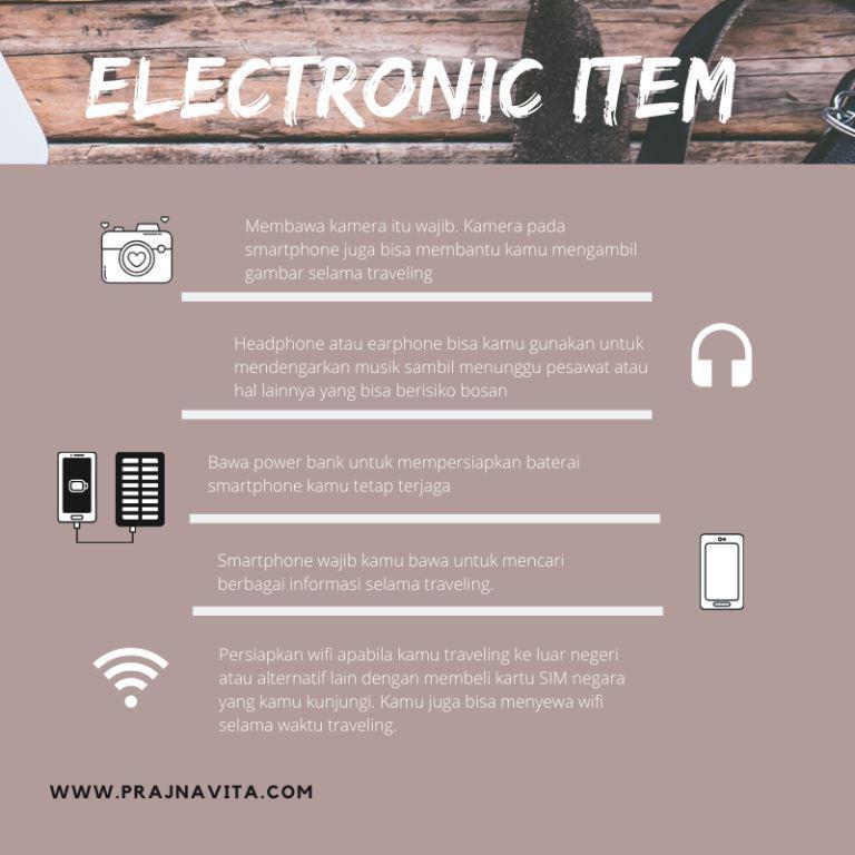 Electronic Item/Infografis: Prajna Vita