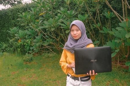 Laptop Jadi Alternatif Investasi Content Creator/Foto: Risty Mirsawati