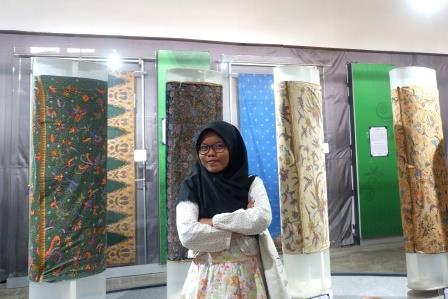 Berbagai Motif Batik yang Dipamerkan di Museum Batik Pekalongan/Foto: Prajna Vita