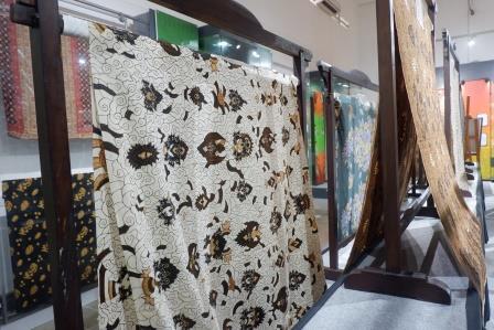 Display Batik di Museum Batik Pekalongan/Foto: Prajna Vita
