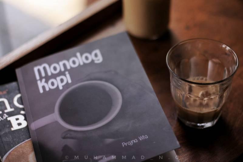 Buku Monolog Kopi by Prajna Vita/Foto: Muhammad N.G